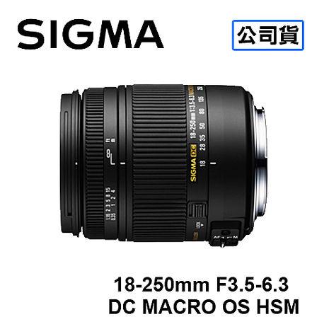 SIGMA 18-250mm F3.5-6.3 DC MACRO OS HSM 防手震鏡頭 三年保固 恆伸公司貨FOR NIKON