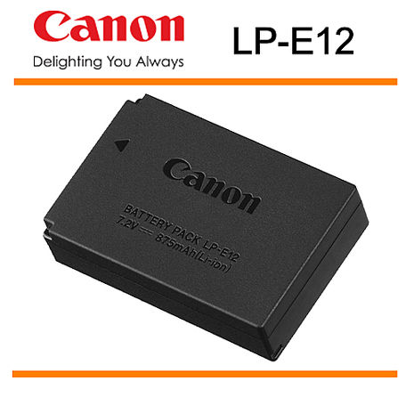 CANON LP-E12 原廠電池 LPE12 全新 裸裝 原電 EOS 100D M M2 M10 適用