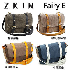 ZKIN Fairy E 單肩 相機包 側背包 斜背包 可容一機一鏡 (橡膠黑色)
