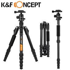 K&F Concept TM2515B 鎂鋁合金 多功能 旋鈕式 腳架 球型雲台 專業 三腳架 (KF09.047)