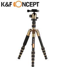 K&F Concept TM2235 鎂鋁合金 多功能 旋鈕式 腳架 球型雲台 專業 三腳架 (KF09.022)