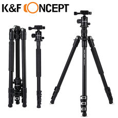 K&F Concept TM2324 II 鎂鋁合金 多功能 扳扣式 腳架 球型雲台 專業 三腳架 (KF09.040)