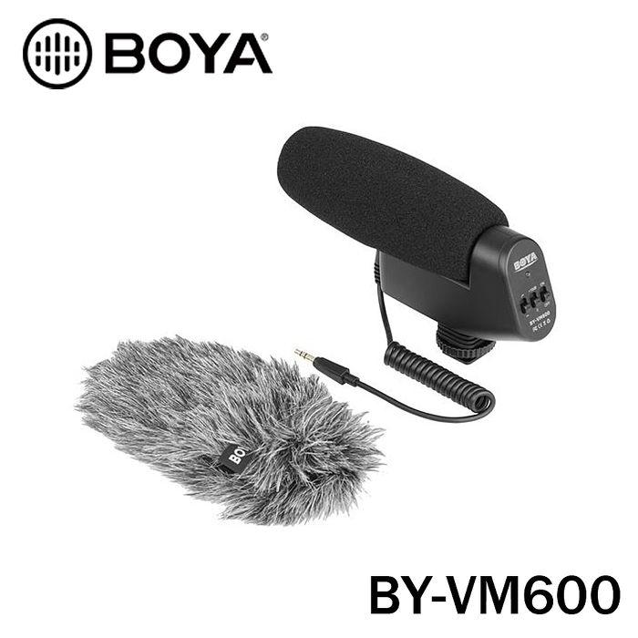 BOYA 博雅 BY-VM600 槍型指向式採訪錄音麥克風 直播 採訪 錄影 立福公司貨