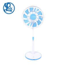 LSK 樂司科 AirFly光之蝶 14吋 DC直流節能循環立扇 電風扇 -藍 LSK-DC001-B/LSK-DC001B