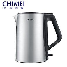 CHIMEI 奇美   1.5公升三層防燙不鏽鋼快煮壺-KT-15MD01 星鑽鋼