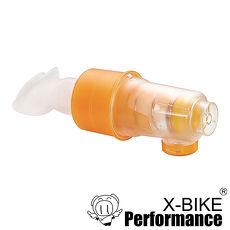 Bravo舒呼樂 呼吸訓練器 訓練躍級款豔陽橘 吸吐二合一