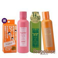 【Propolinse】蜂膠+抹茶+櫻花蜂膠漱口水600ml(贈蜂膠漱口水隨身包6包/盒)
