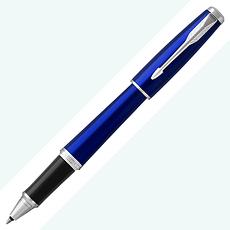 PARKER派克URBAN 紳士寶藍白夾 鋼珠筆*可免費刻字