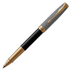 PARKER 派克卓爾 黑格紋白夾鋼珠筆