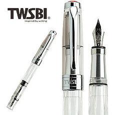 台灣三文堂鋼筆 鑽石 580 AL透明 M