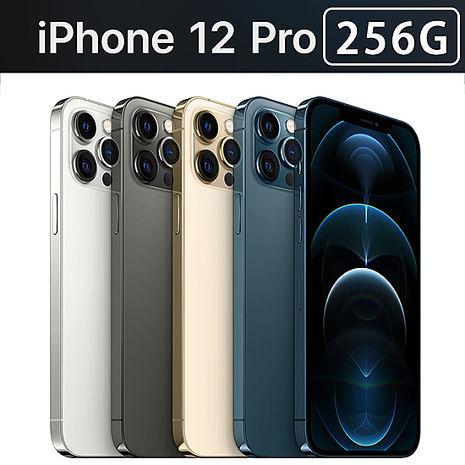 Apple iPhone 12 Pro 256G《超值殼貼組》太平洋藍