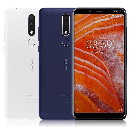 NOKIA 3.1 Plus 3G/32G 6吋大螢幕八核心智慧型手機藍