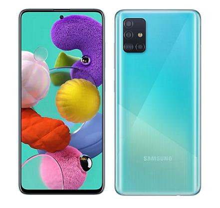 Samsung Galaxy A51 6G/128GB 6.5吋超強4鏡頭智慧型手機晶礦黑
