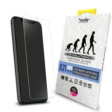 【hoda】iPhone X / Xs 5.8吋 進化版邊緣強化9H鋼化玻璃保護貼 0.21mm(半版)