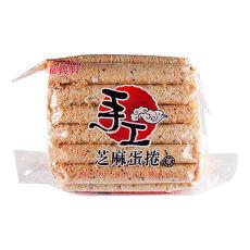 【福義軒】芝麻蛋捲(葷食)   ( 500g/包 )  3包