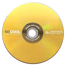 SOCOOL DVD+R 8X DL 25片裝 錸德製 D9 可燒錄空白光碟