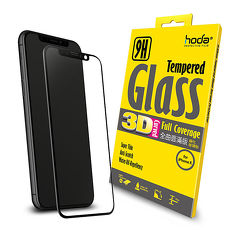 hoda 3D【iPhone X/XS 5.8吋】全曲面滿版9H鋼化玻璃保護貼 黑