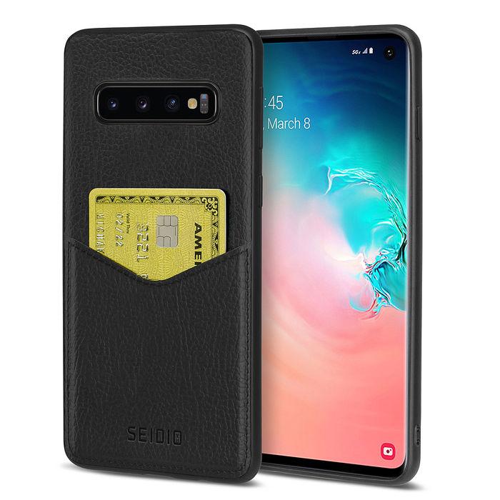 (加購品)SEIDIO Samsung Galaxy S10 極簡皮革手機保護殼EXECUTIVE