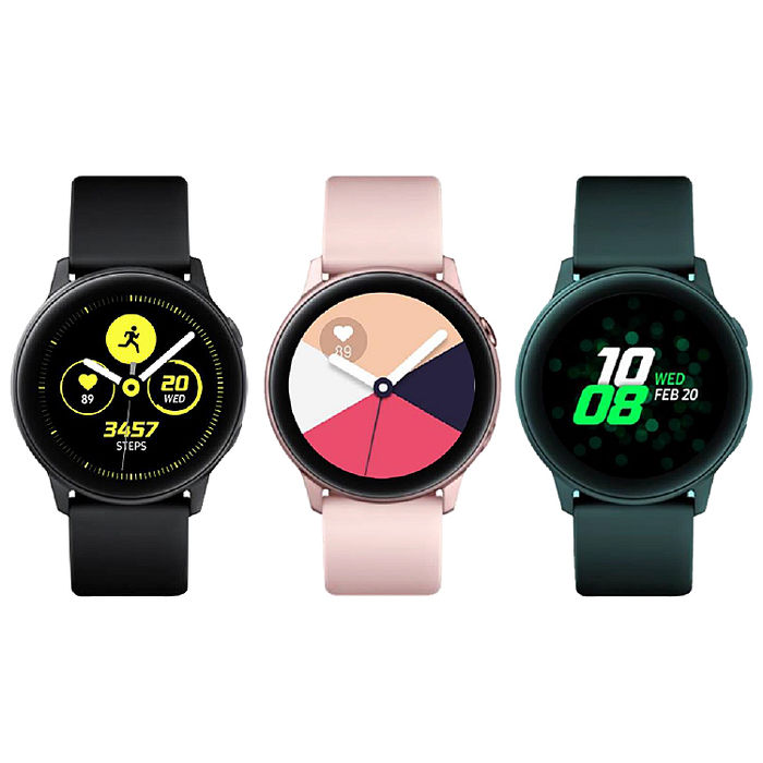 SAMSUNG 三星 Galaxy Watch Active 智慧型手錶 (SM-R500)【認證福利品】(原廠保固)玫瑰金