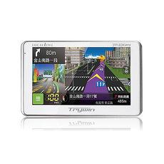 [福利品出清]Trywin 3DX PRO 3D聲控整合機 GPS+行車記錄器 (贈RL110倒車後視鏡頭 )