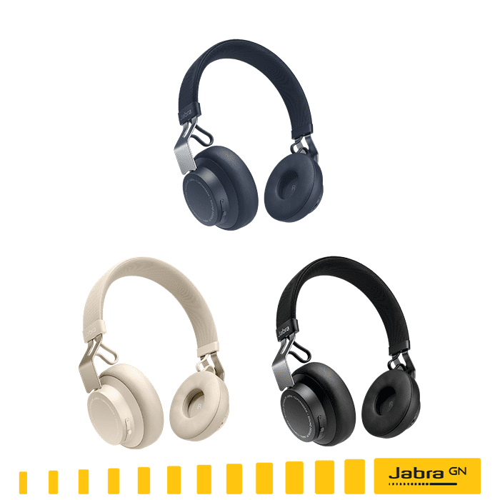 【Jabra原廠公司貨】MOVE Style Edition 頭戴式音樂藍牙耳機 (沐舞風尚版)曜石黑
