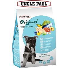 【UNCLE PAUL】保羅叔叔田園生機狗食 3kg(幼犬 全齡用)