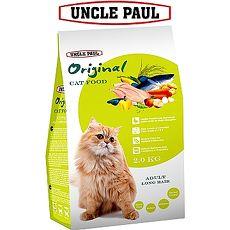 【UNCLE PAUL】保羅叔叔田園生機貓食 2kg(成貓 長毛貓)