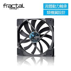 【Fractal Design】 Venturi HF-14 黑 機殼系統高風量靜音風扇