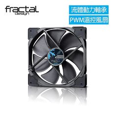 【Fractal Design】 Venturi HP-14 PWM 黑 機殼系統高風量靜音風扇