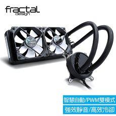 【Fractal Design】 Celsius S24  一體式水冷散熱器 240 mm