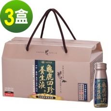 【台塑生醫】龜鹿四珍養生液50ml/14瓶(3盒/組)