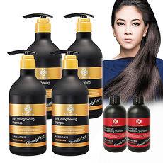 《台塑生醫》Dr's Formula髮根強化洗髮精580g*4瓶+控油抗屑洗髮精100g*2瓶-特賣
