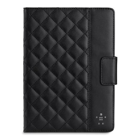 Belkin iPad Air 菱格紋 保護套 黑色