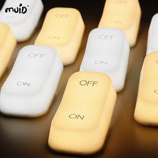 【MUID】ON-OFF 創意開關燈/ 充電LED小夜燈