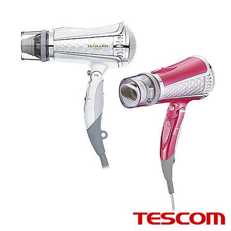 【日本TESCOM】負離子吹風機 TID960TW粉色