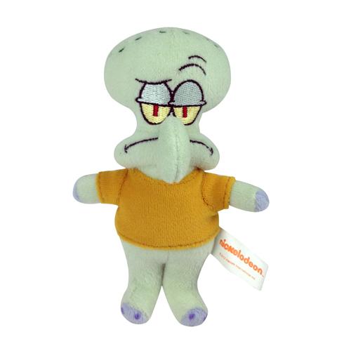 (代理版) 海綿寶寶Q版發聲玩偶-12吋章魚哥(預購3日內出貨)