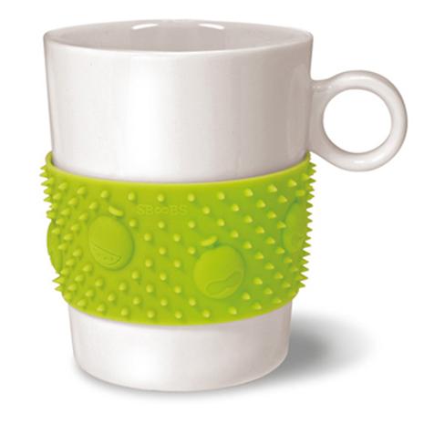 【針小人】按摩紓壓馬克杯-綠