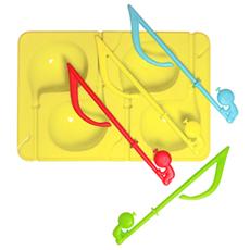 【冰清玉潔假小人】製冰攪拌棒組 - 黃 2入1組