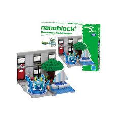 代理 精靈 寶可夢 神奇寶貝 河田積木 kawada nanoblock PP-004 小水蛙的遊艇碼頭