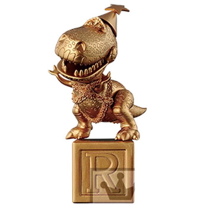迪士尼 MEGA WCF 玩具總動員  耶誕節 抱抱龍 台座組 金色 限定版  代理