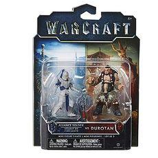 電影 WARCRAFT《魔獸:崛起》2吋 公仔組 Durotan & Alliance 士兵 2入1組