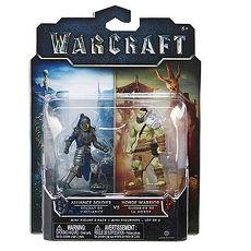 電影 WARCRAFT《魔獸:崛起》2吋 公仔組 Horde 戰士 2 & Alliance 士兵 2入1組