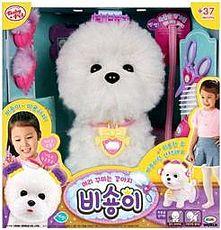 MIMI 電子寵物 甜心沙龍 比熊犬 屋虎