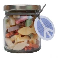 Soap-n-Scent 泰香 草本造型手工保養皂-玻璃罐裝迷你皂(小魚)100g