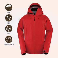 AITH防水防風保暖透氣機能外套(AI-4101-RED) 熱情紅L