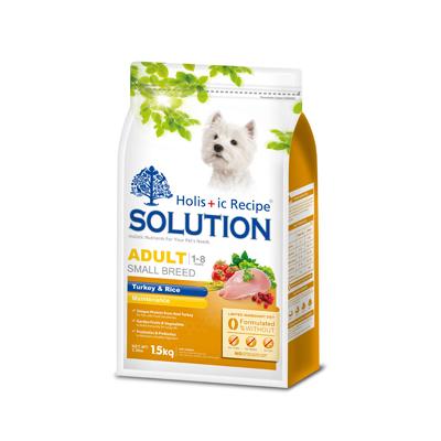 【SOLUTION】耐吉斯 成犬 鮮美均衡配方 火雞肉+田園蔬菜 3公斤 X 1包