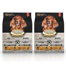 【Oven-Baked】烘焙客 高齡/減重犬 雞肉口味 大顆粒 5磅 X 2包