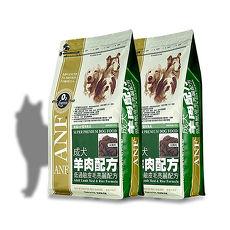 【ANF】美國愛恩富 成犬羊肉配方 大顆粒 狗飼料 3公斤 X 2包