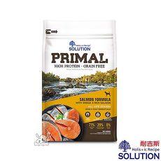 SOLUTION 耐吉斯 源野 高蛋白 鮭魚配方 無穀全齡犬糧 16lb