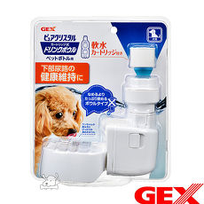 GEX 日本 濾水神器 深皿 犬用 飲水器 1組入
